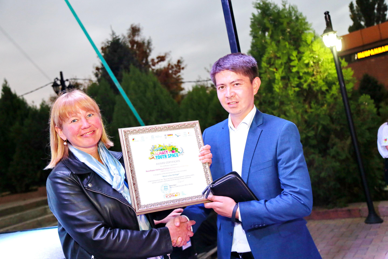 Церемония награждения ©ЮНЕСКО Алматы